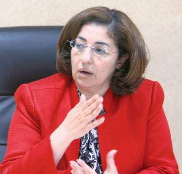 ريم ابوحسان وزير اسبق