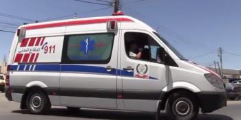 وفاة ثمانيني و4 اصابات بتصادم مركبتين في اربد