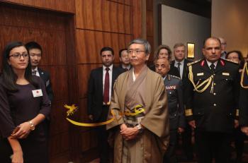 احتفال السفارة اليابانية بعيد 83 للامبراطورية