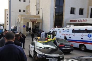 مشاهدات من ادلاء الوزير السابق عبيدات شهادته بقضية مستشفى السلط