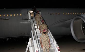 وصول القوة الأردنية المشاركة في تمرين سيف العرب إلى أرض الوطن