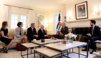 الملك يبحث تسريع دخول الأردنيين للمطارات الأمريكية