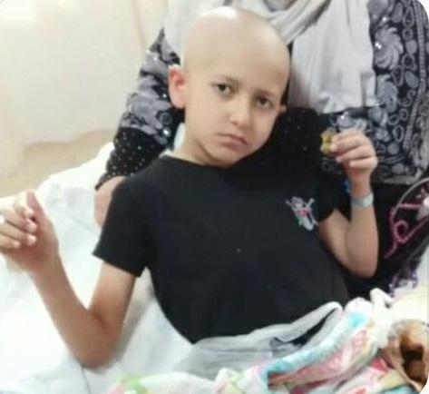 طفل مريض باللوكيميا يتمنى لقاء الملك