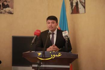 السفير الاذري يتحدث عن تطورات الاوضاع بين بلاده وارمينيا (صور)