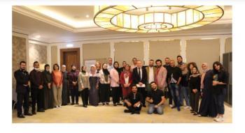 الشؤون الفلسطينية تشارك في البرنامج التدريبي رحلة القيادة