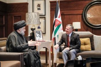 الملك: المنطقة لا تحتمل نزاعا جديدا يكون الارهاب المستفيد منه