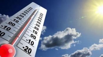 طقس حار اليوم