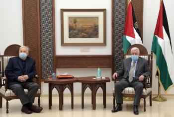 عباس يصدر مرسوما باجراء الانتخابات الرئاسية الفلسطينية نهاية تموز