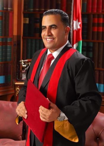 الرائد زيد ابوقاعود مبارك الدكتوراة