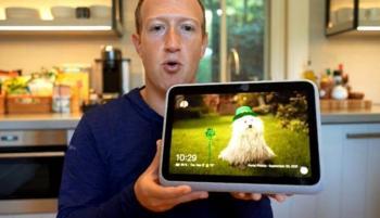 من المطبخ ..  مارك زوكربيرج يكشف عن جيل جديد من أجهزة بورتال