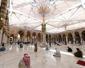 الحصوة في المسجد النبوي ..  أين تقع وما دورها التاريخي؟