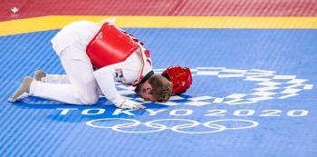 الشرباتي يحقق انتصاره الاول ويتأهل الى ربع النهائي في تايكواندو الاولمبياد