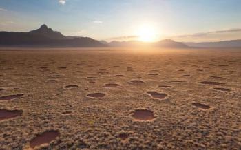 حل لغز دوائر خيالية ظهرت في الصحراء الإفريقية