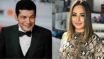 انتهاء أزمة الفنانين باسم سمرة ورحاب الجمل