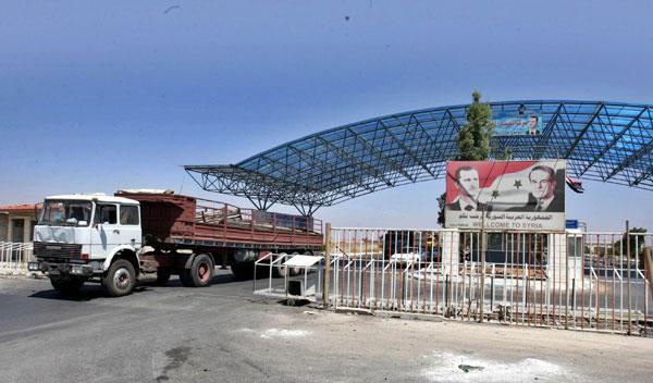 وزير سوري: عودة معبر نصيب مع الاردن استعادة لشريان النقل البري