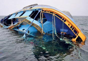 غرق قارب ارشاد في العقبة