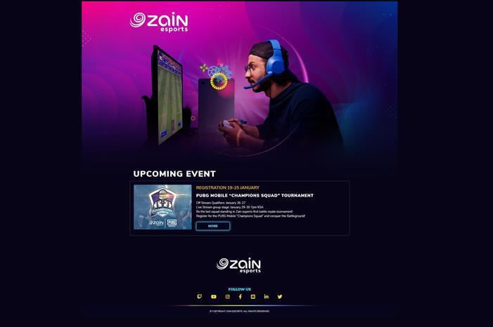 منصة زين للرياضات الإلكترونية Zain esports تطلق منافسات ببجي موبايل PUBG Mobile