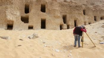اكتشاف 250 مقبرة أثرية ذات طرز متنوعة في سوهاج المصرية