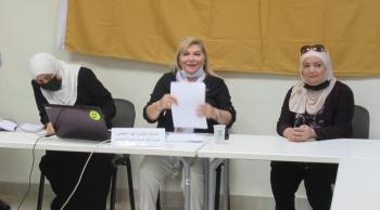 حيث تكون القيم تُكوّن القمم محاضرة في مركز خدمة المجتمع بالأردنية