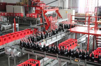 افتتاح مصنع كوكا كولا في غزة