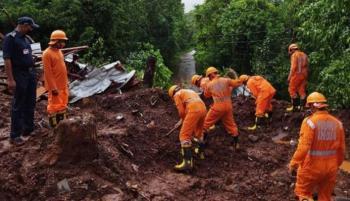 9 قتلى في انهيار أرضي شمال الهند
