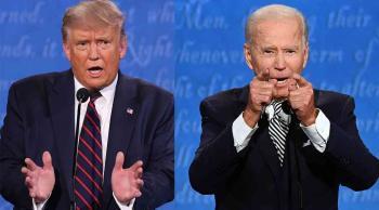 بايدن: أمريكا لن تقف مكتوفة الأيدي إذا رفض ترامب التنحي