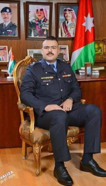 الملازم شجاع أيمن العلاونة ..  مبارك