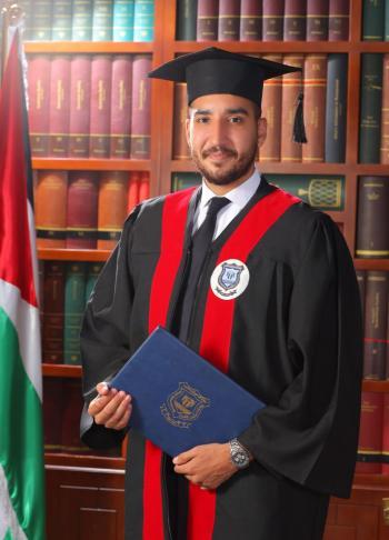 علاء قويدر  .. مبارك التخرج