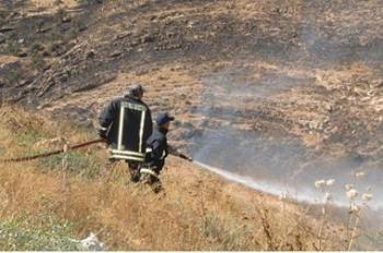 98 حريقا في الأردن خلال 24 ساعة