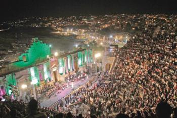 العايد: إقامة مهرجان جرش مرهون بتحسن الوضع الوبائي