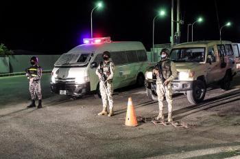 القوات المسلحة تبدأ بتنفيذ خطة فرض الحظر الشامل