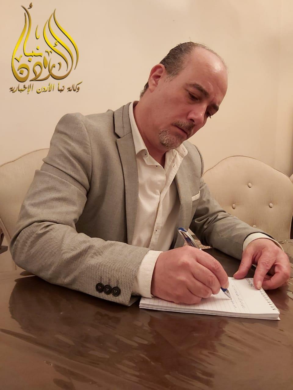 الحلبي يطلق موقع نبأ الأردن الإخباري