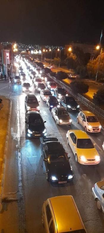 الأمن عن الازدحام بشارع الاستقلال خلال الحظر: تفقد للتصاريح