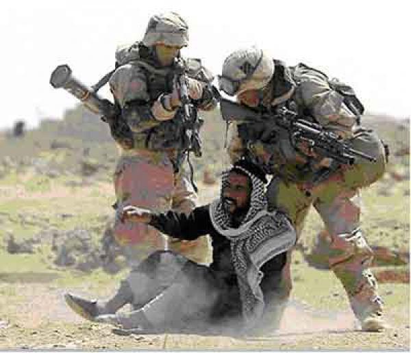 جنديان اميركيان في العراق
