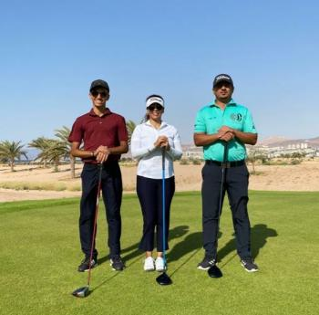 منتخب الجولف يشارك في بطولة مصر الدولية