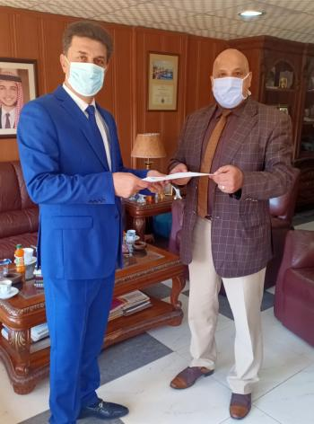 اتفاقية لإجراء فحص pcr لعملاء شركة دالاس