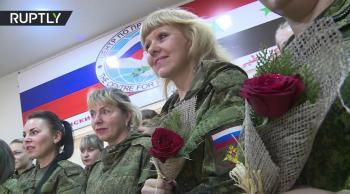 نقل أكبر دفعة من أطفال ونساء روس من سوريا السبت