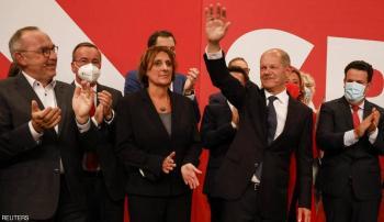 الاشتراكي الديموقراطي يفوز بالانتخابات الألمانية