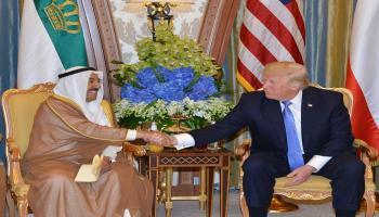 رتبة قائد أعلى ..  ترامب يمنح أمير الكويت وسام الاستحقاق