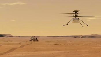 المروحية إنجينيويتي تحلق بنجاح فوق المريخ