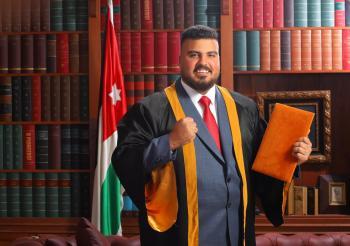 عبد جلال عبد الرحاحلة مبارك التخرج