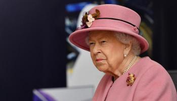 الملكة إليزابيث الثانية تقدم رسالة شكر في ميلادها الـ95