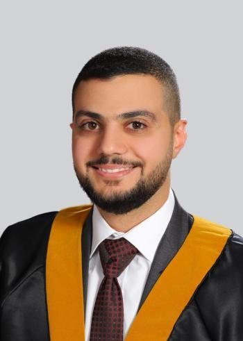 الدكتور زيد العلي  .. مبارك الماجستير