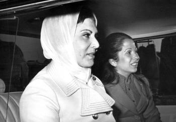 الاميرة بسمة تستذكر والدتها الملكة زين الشرف (صور)