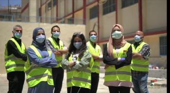حملة تطوعية لهيئة شباب كلنا الأردن في امتحانات الثانوية العامة