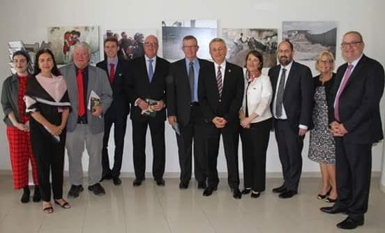 البرغوثي يدعو وفدا برلمانيا استراليا للتضامن مع الاسرى الفلسطينيين