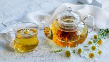 فوائد شاي البابونج للحلق
