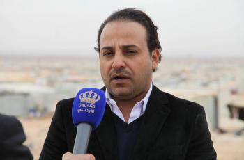 الحمادي سفير النوايا الحسنة يزور مخيم الزعتري