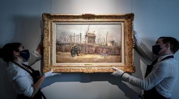لوحة فنية لـ فان غوخ تظهر للعلن للمرة الأولى منذ قرن