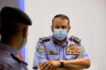 مدير الأمن العام يزور مديرية الإعلام والشرطة والمجتمعية